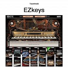 编曲钢琴键盘 Toontrack EZkeys Mac+Win v1.3.0 扩展音色14套+海量MIDI+loop 91套